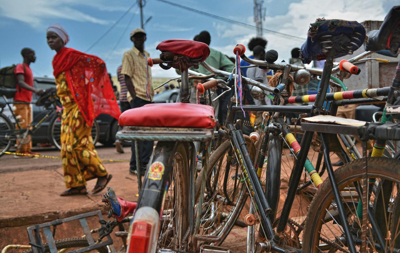 Räder als Haupttransportmittel