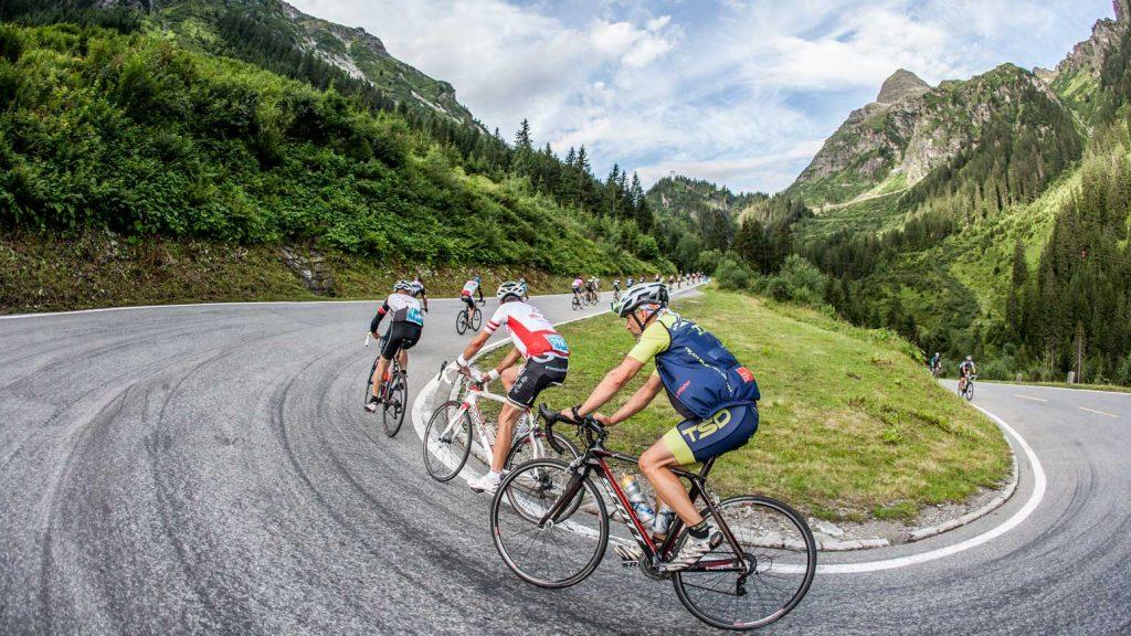 150 Kilometer und 2500 Höhenmeter am Arlberg (Foto: Ralf Hauser)