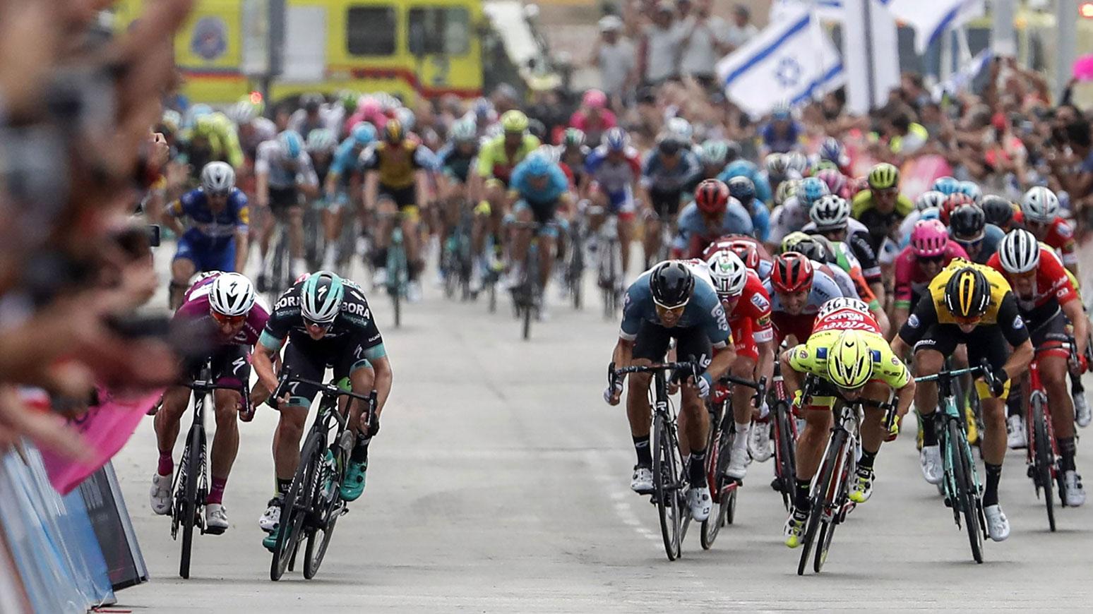Keiner ist schneller als Viviani: der italiener gewinnt beide Sprinter-Etappen