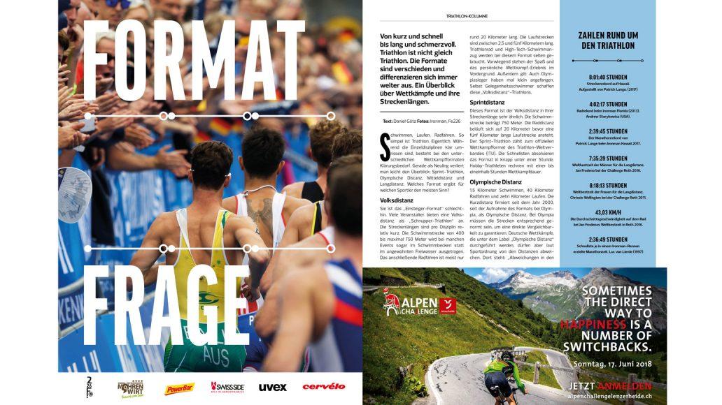 Triathlon-Distanzen-Formate