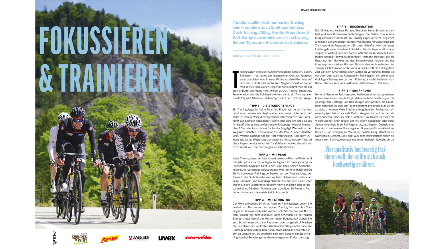 Triathlon-Trainingslager-Tipps