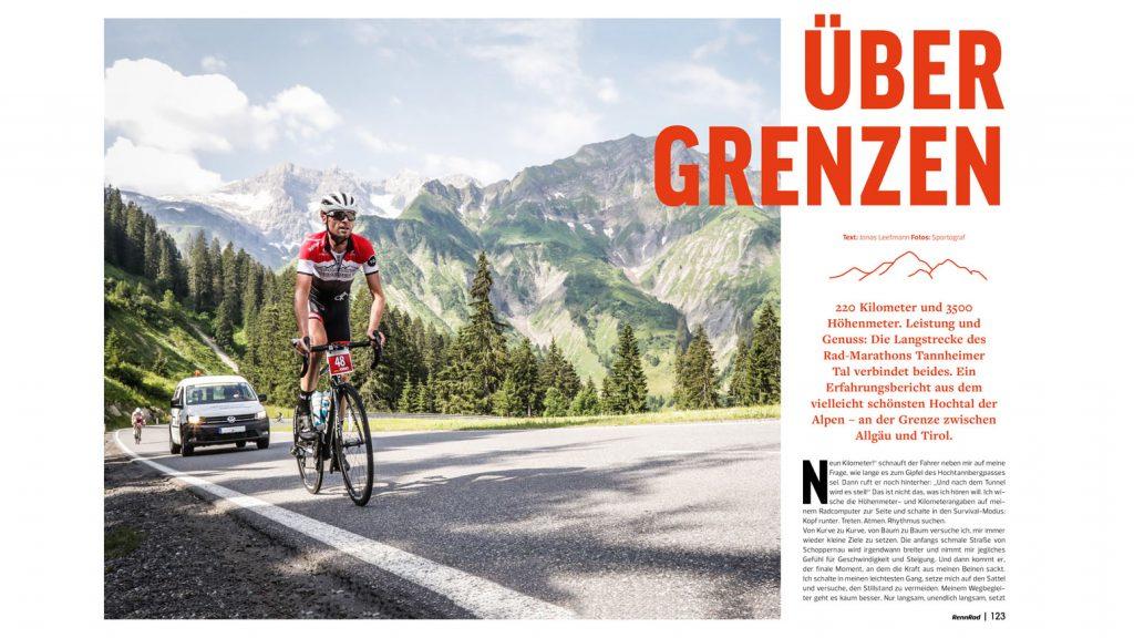 Das Tannheimer Tal: Radmarathon- und Trainings-Region zwischen dem Allgäu und Tirol