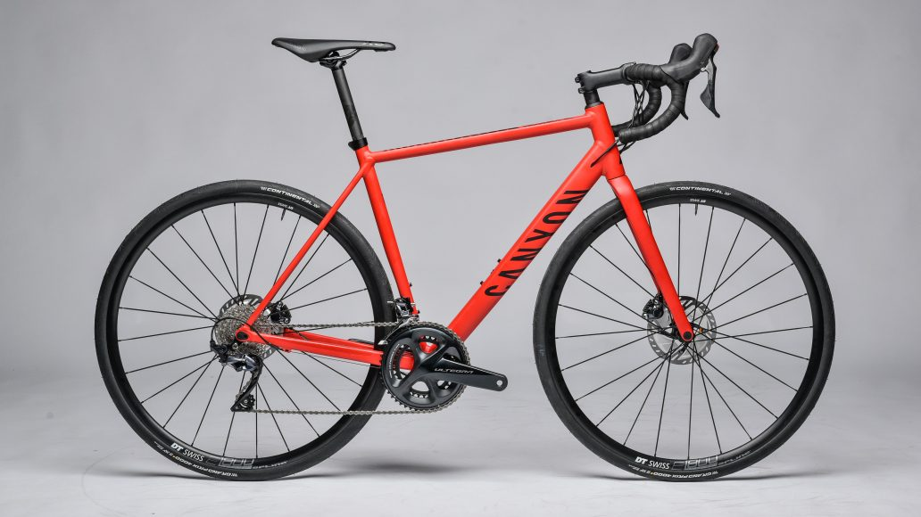 Canyon-Endurace-Test Alu-Rennrad