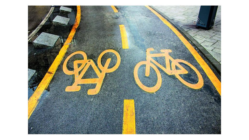 mehr sicherheit im stra enverkehr f r fahrradfahrer ein. Black Bedroom Furniture Sets. Home Design Ideas