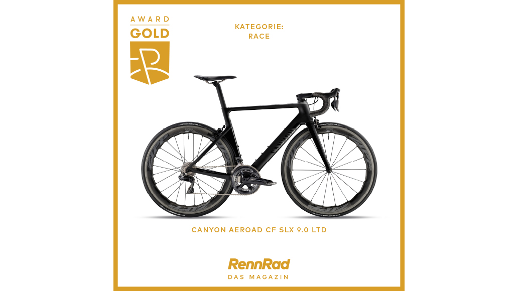 Aeroad von Canyon holt Gold in Race.