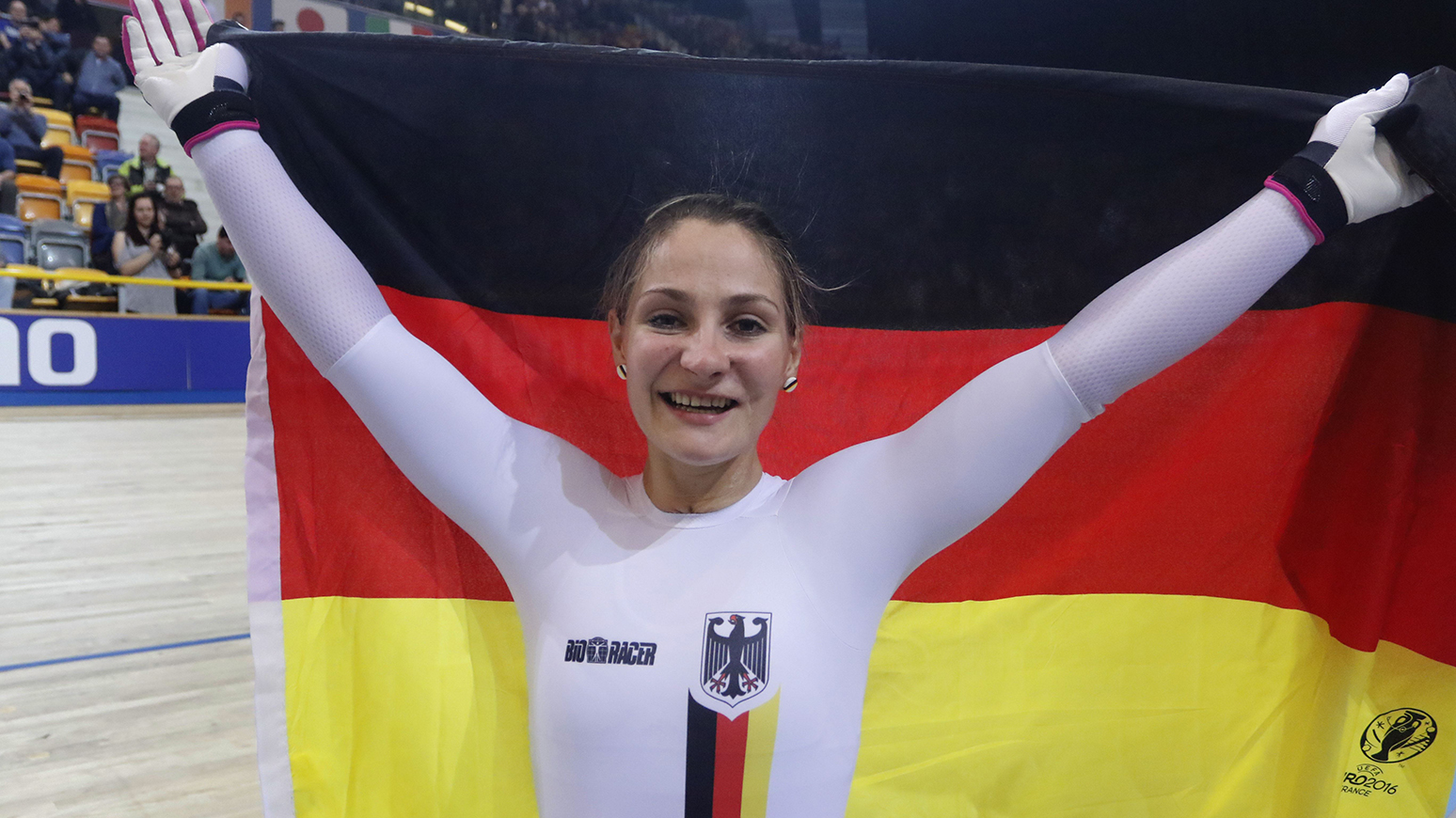 Kristina Vogel, Radsportler des Jahres