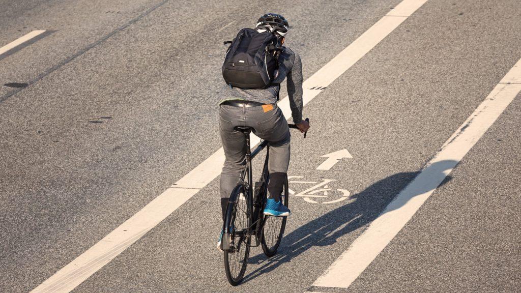 Nummernschild-Fahrrad