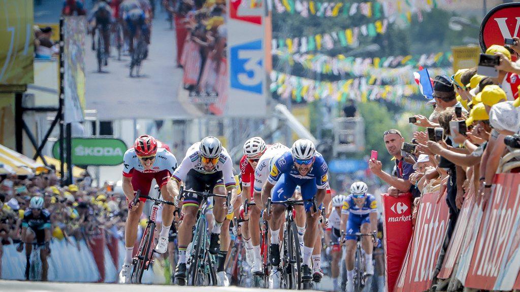 Fernando Gaviria bei der Tour de France