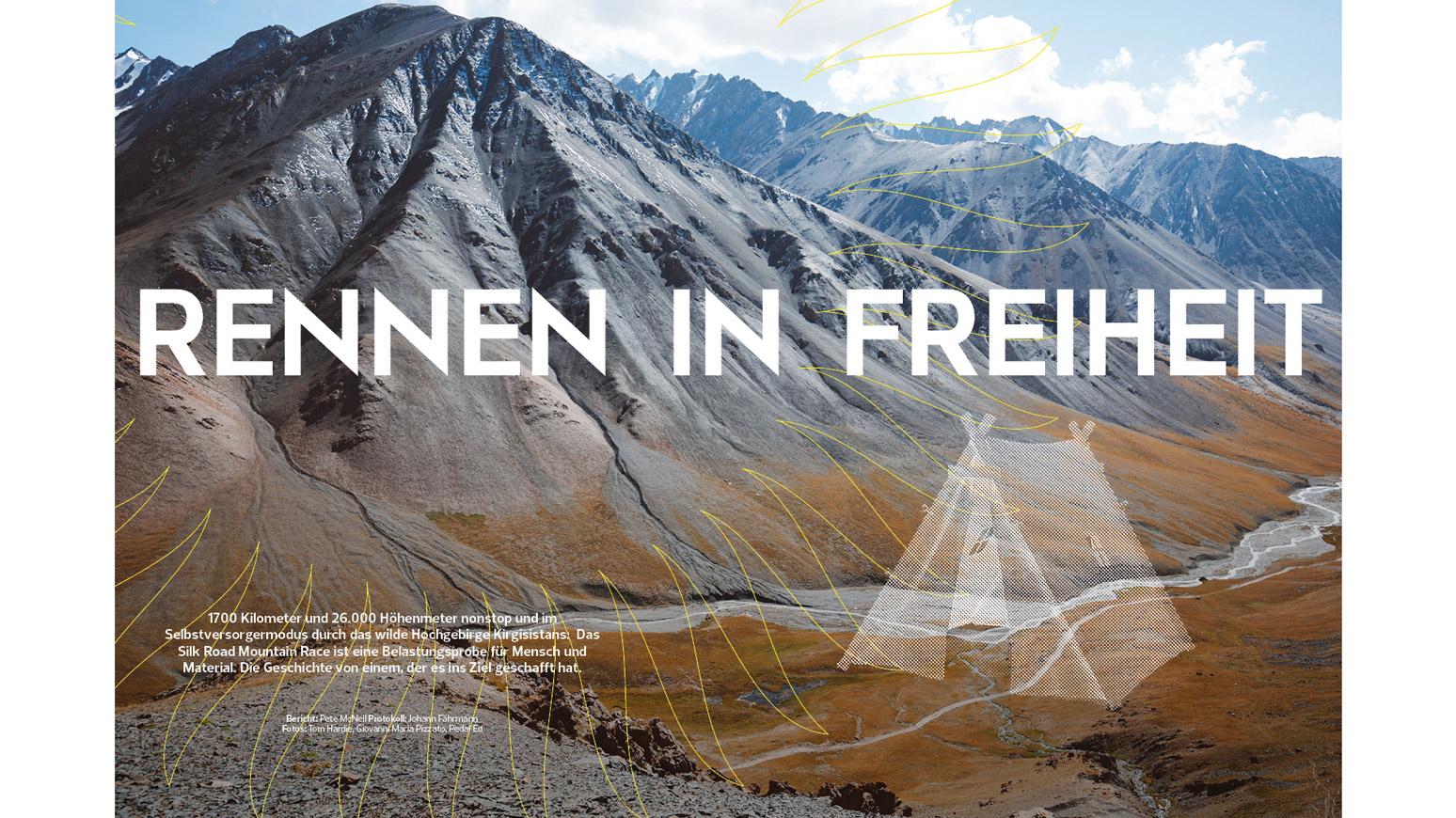 Silk Road Mountain Race: Erfahrungsbericht