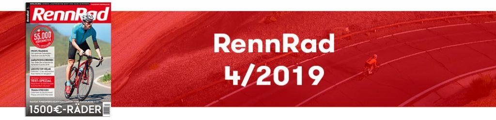 RennRad 4/2019, Ausgabe, Banner