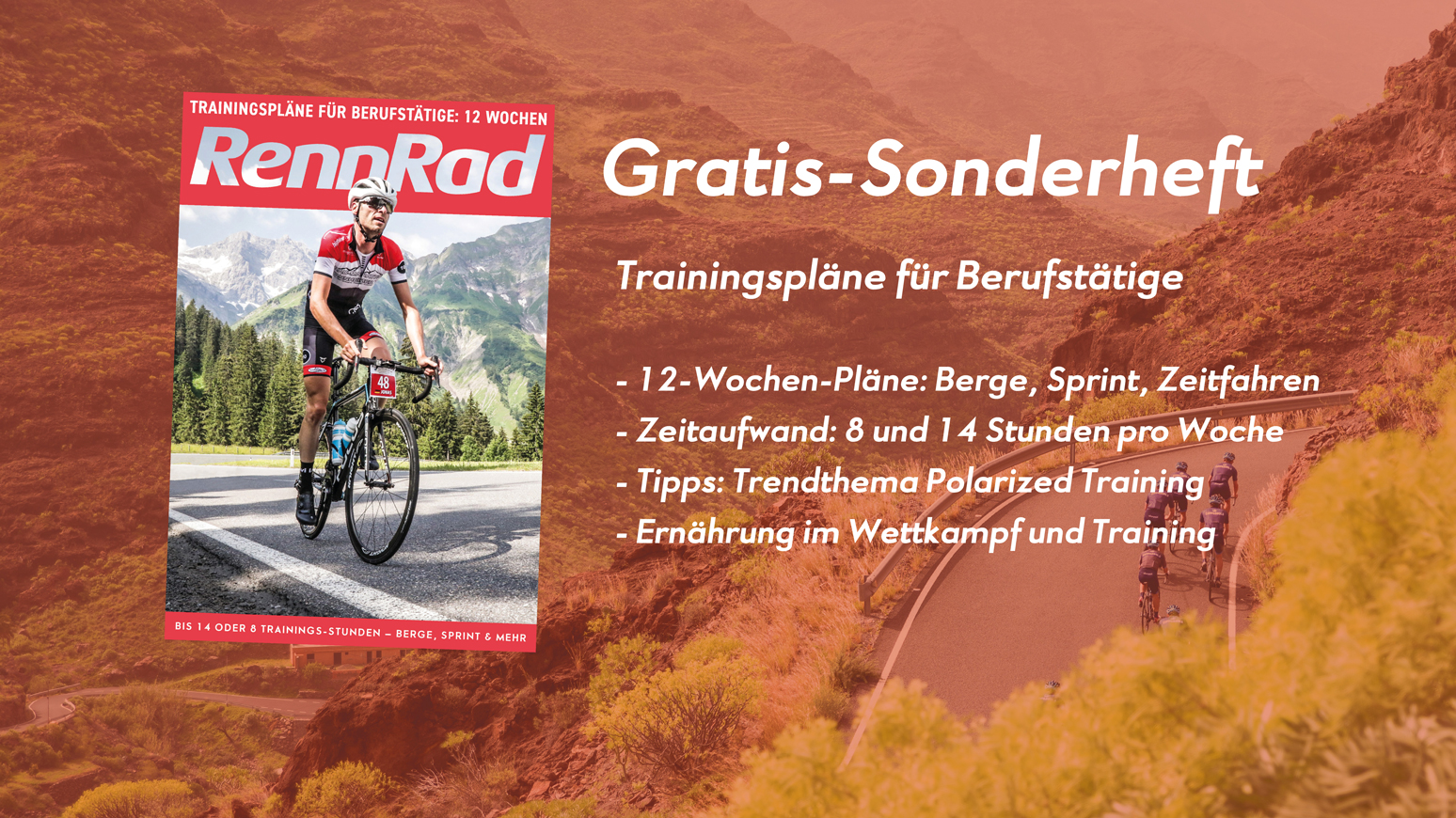 Rennrad-Training