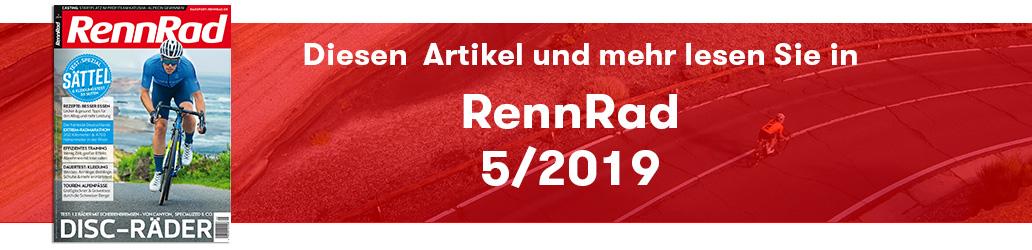 RennRad 5/2019, Banner, RennRad