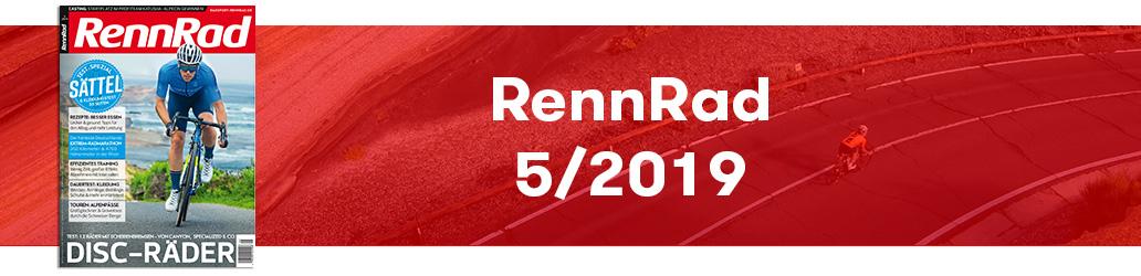 RennRad 5/2019, Ausgabe, Banner