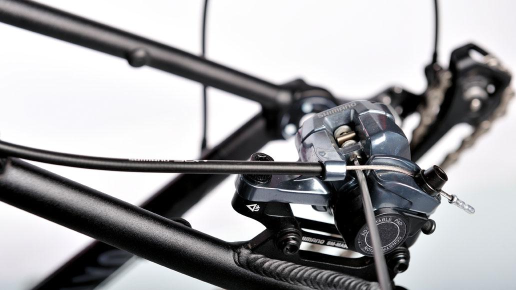 Fahrrad, Justage, Bremsbeläge, Scheibenbremsen, einstellen, austauschen