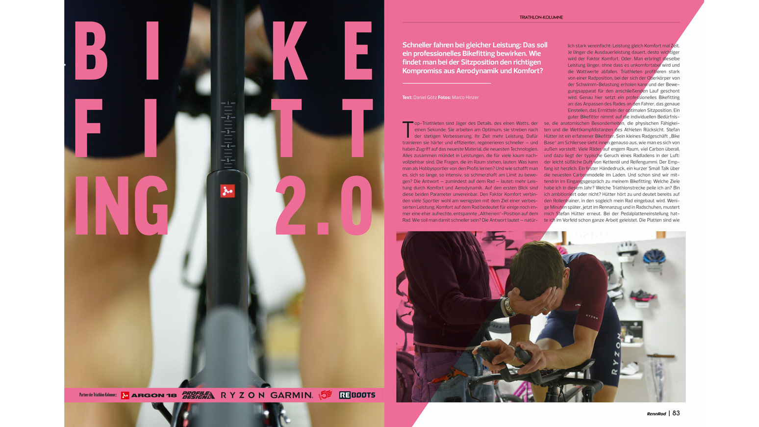 Triathlon-Bikefitting-Sitzposition