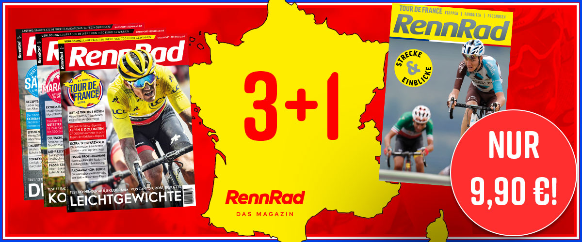 Tour de France, Abo, Banner