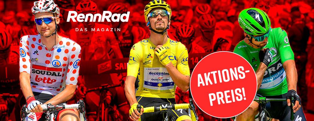 Banner, Tour de France, Aktion