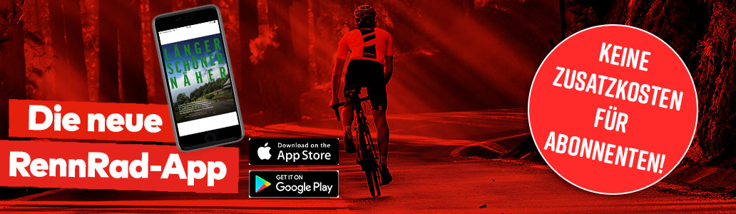 App, RennRad, Download, Banner
