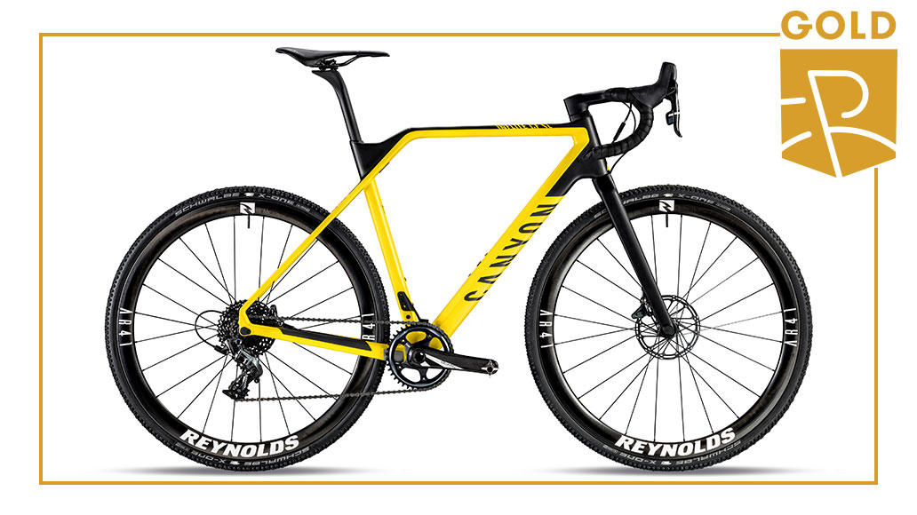 Cyclocross - Gold: Canyon Inflite CF SL 8.0 Race, Best Bike Award