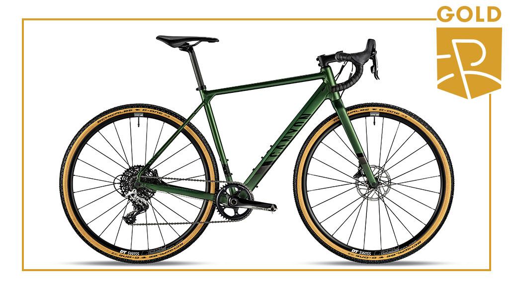 Gravel - Gold: Canyon Grail AL 7.0 SL, Best Bike Award