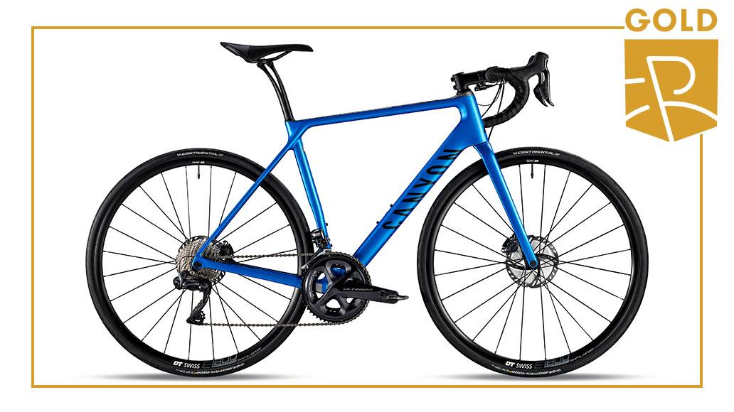 Komfort & Endurance - Gold: Canyon Endurace CF SL Disc 8.0 Di2, Best Bike Award