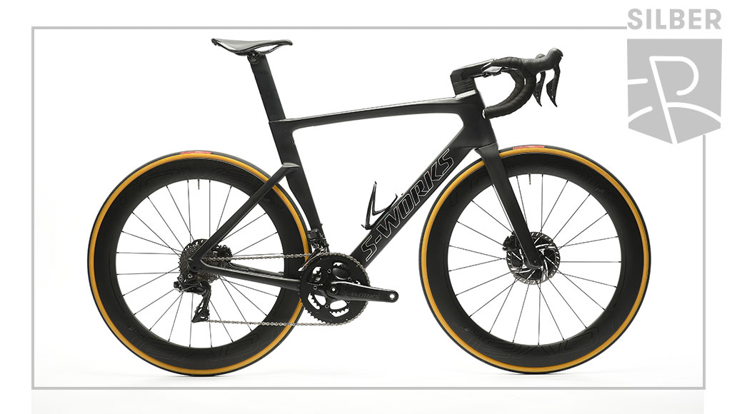 Race - Silber: Specialized S-Works Verge Dura-Ace Di2, Best Bike Award