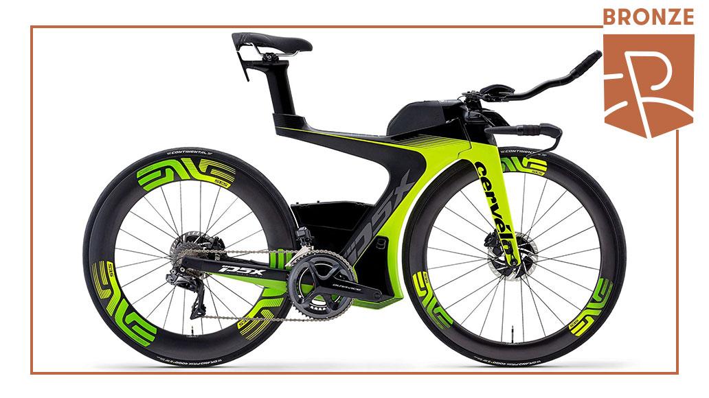 Triathlon & Zeitfahren - Bronze: Cervélo P5X Dura-Ace Di2, Best Bike Award