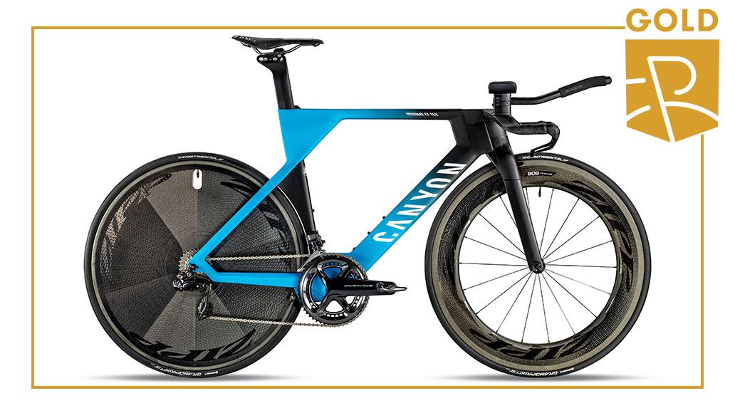 Triathlon & Zeitfahren - Gold: Canyon Speedmax CF SLX 9.0 TT, Best Bike Award