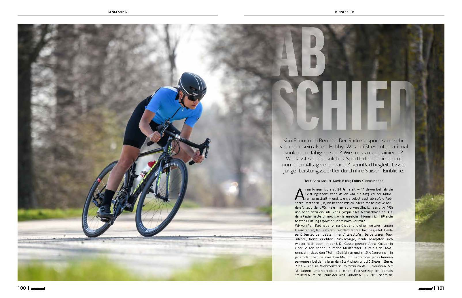 Leistungssportler im Porträt: Wie verlief die Rennrad-Saison? Ein Karrierende