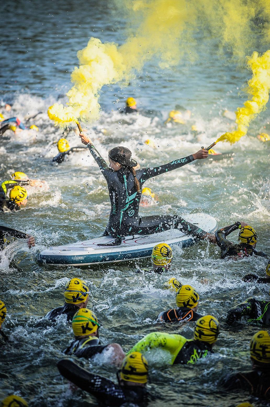 Allgäu Triathlon, Schwimmen