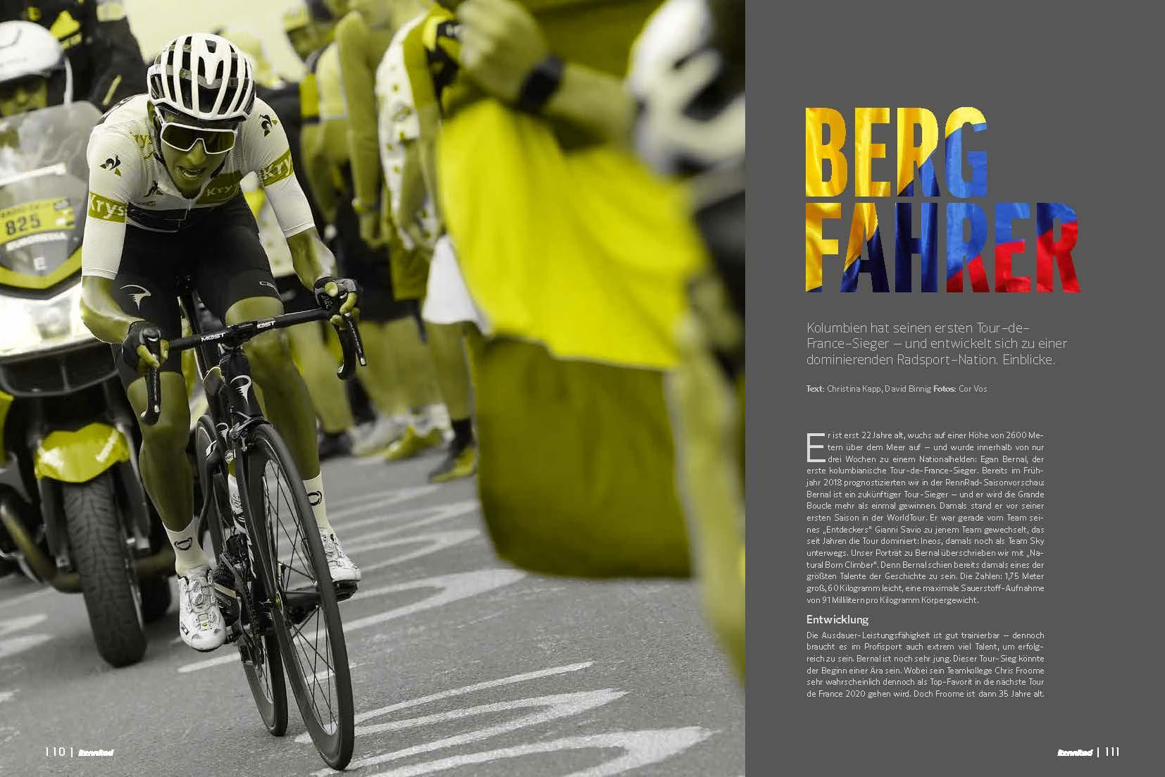 Viele starke Fahrer stammen aus Kolumbien: Egan Bernal , Nairo Quintana und Co. in der Analyse