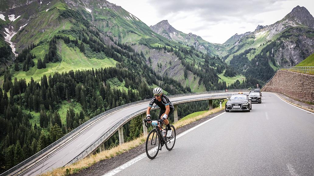 Rad-Marathon Tannheimer Tal, Dominic Aigner