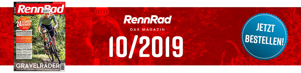 RennRad 10/2019, Banner, Ausgabe