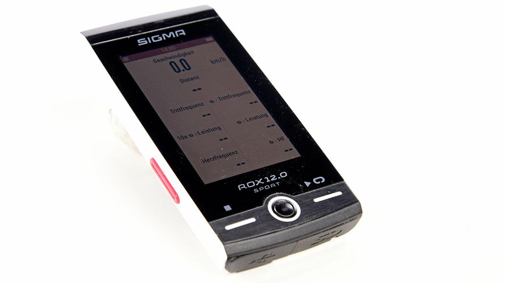 Sigma ROX 12.0 Sport Set, GPS-Radcomputer