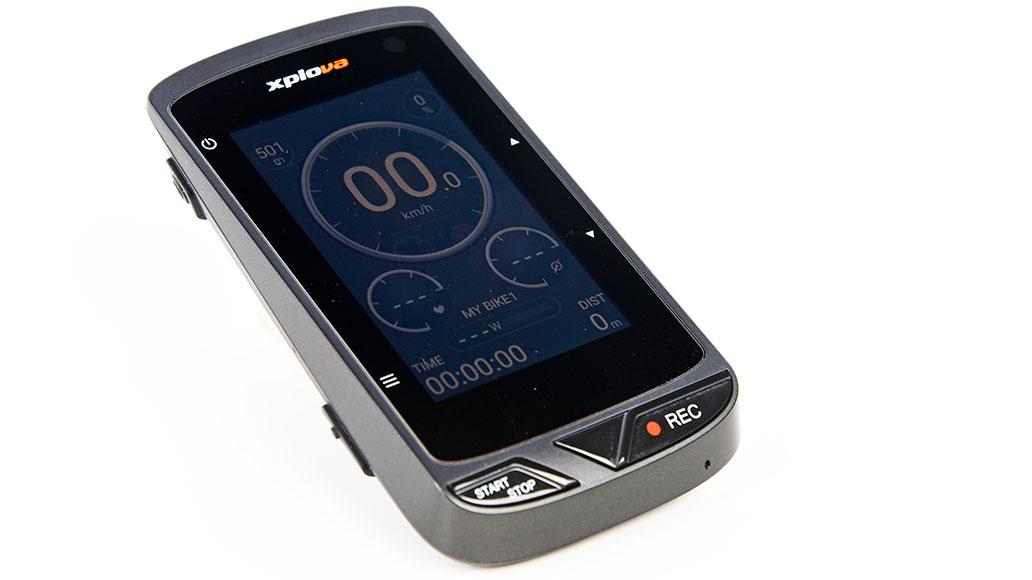 Xplova X5 Evo, GPS-Radcomputer im Test