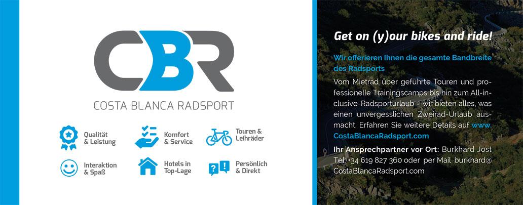 Costa Blanca Radsport, Banner