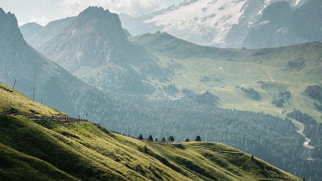 Maratona dles Dolomites, Zitat