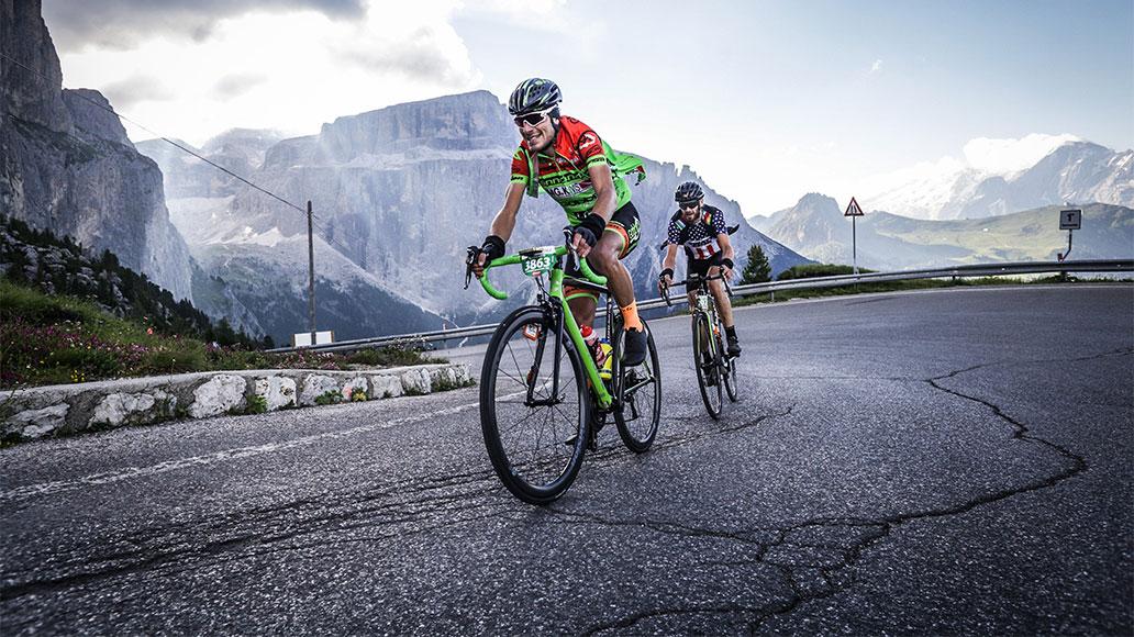 Impressionen von der Maratona dles Dolomites