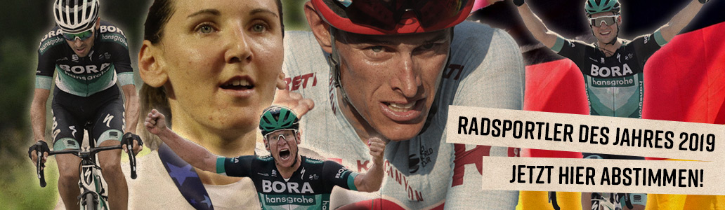 Radsportler des Jahres 2019, Banner, Link