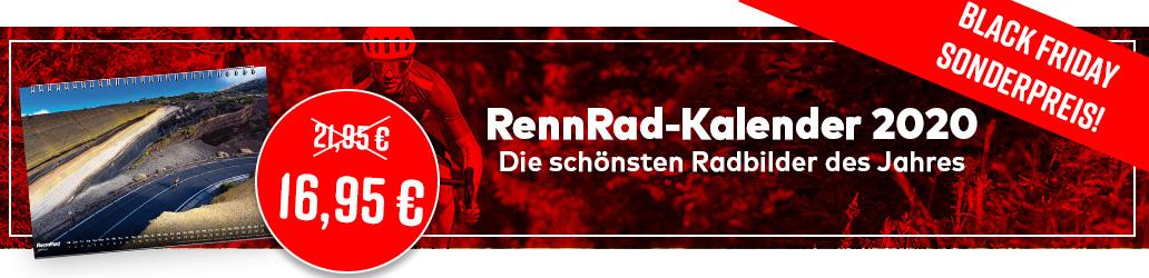 RennRad-Kalender 2020, Black Friday