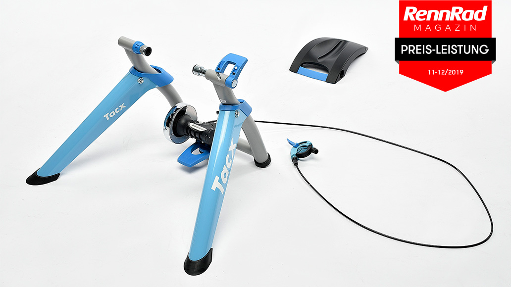 TacX Satori Smart, Test, Rollentrainer
