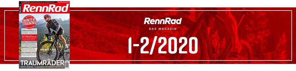 RennRad 1-2/2020, Banner