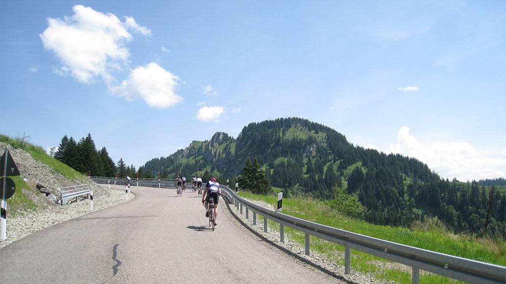Riedbergpass, Alpen, Bayerische Alpen