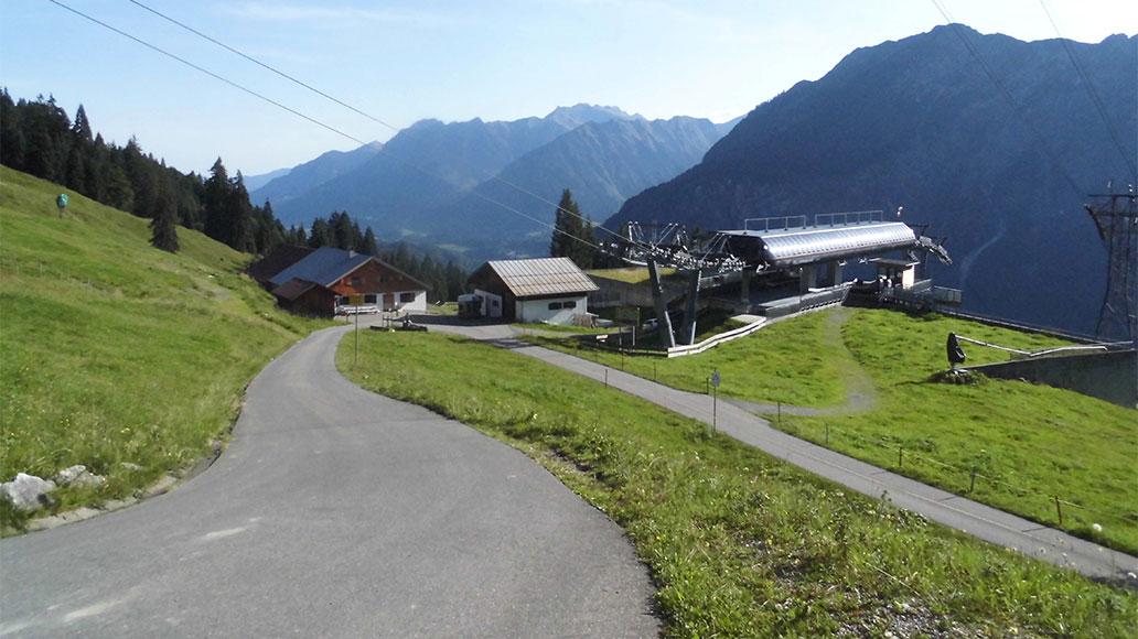 Schlappoldalpe, Alpen, Tourentipps