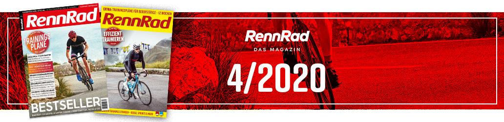RennRad 4/2020, RennRad, Ausgabe, Banner
