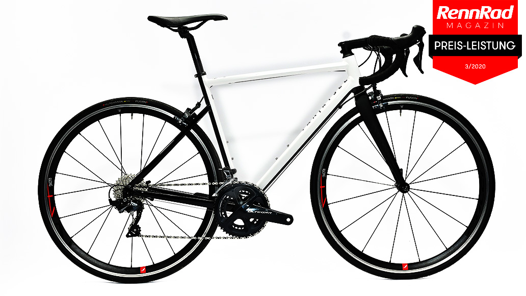 Van Rysel EDR AF Ultegra, Preiswerte Rennräder, Test