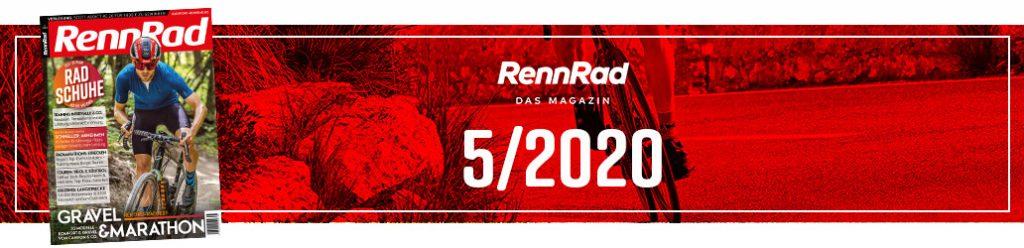 RennRad 5/2020, RennRad, Ausgabe, Banner