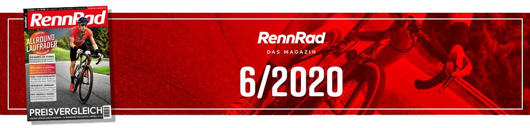 RennRad 6/2020, Preisvergleich, Banner, Heftinhalt