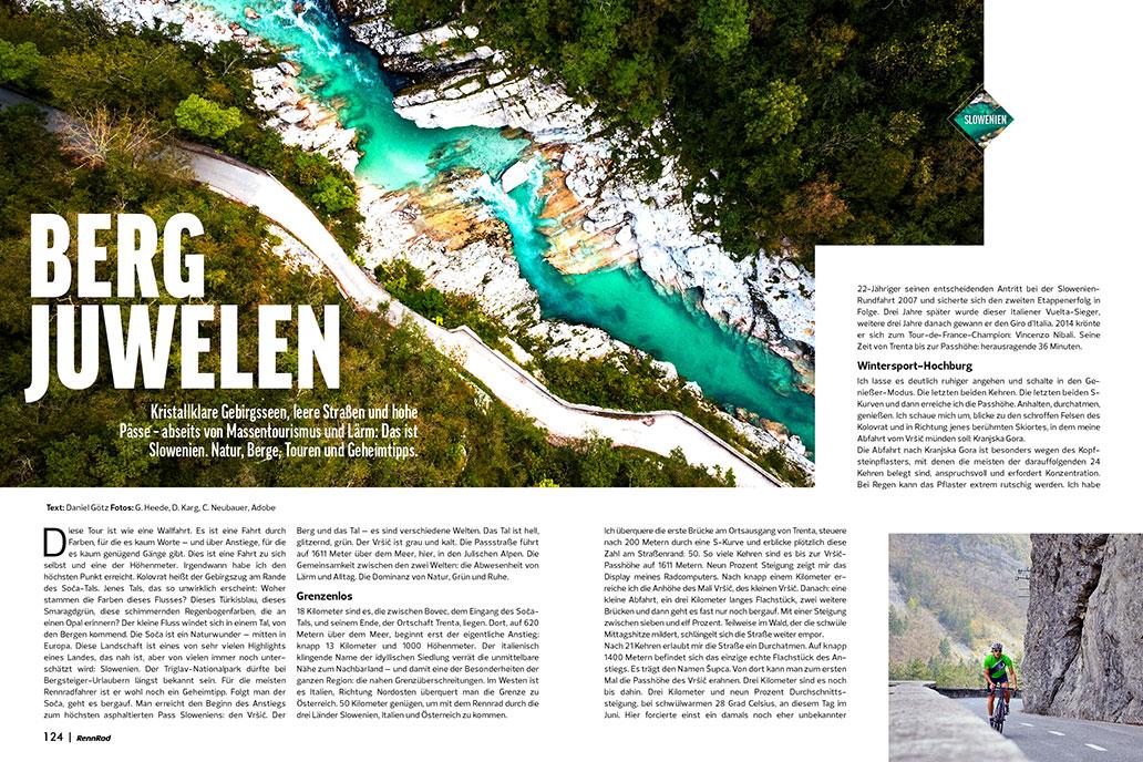 Slowenien, Tour, Reise