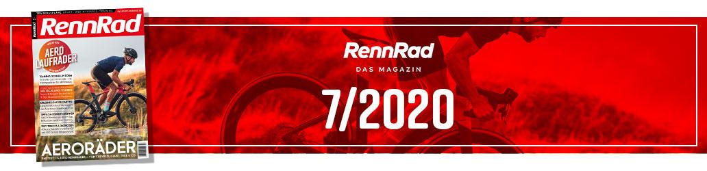 RennRad 7/2020, Banner, Heftinhalt